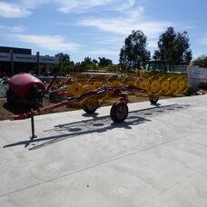Sitrex TR9 trailing hay rake