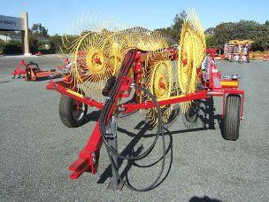 Sitrex explorer 12 wheel vee rake