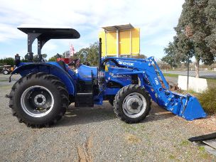 Solis 60 Tractor 4wd rops burder fel 4in1 bucket