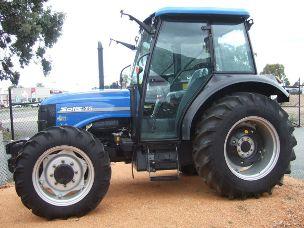 Solis 75 hp Tractor 4 wd cabin