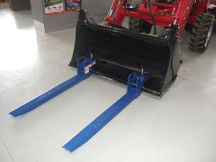TWM clamp on pallet forks
