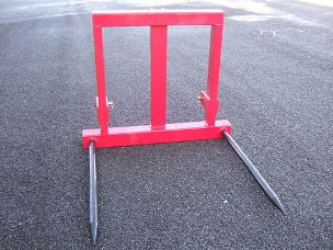 TWM linkage bale forks