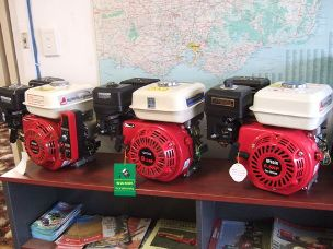 Worker stationary petrol engines