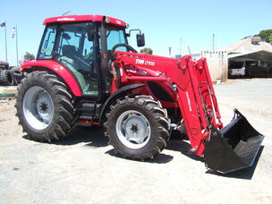 TYM T1003 Cab tractor with loader