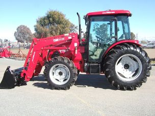 Tym T723 4wd cabin front end loader 4in1 bucket