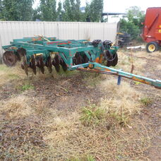 USED 28 PLATE GIBBINS RAWLINGS DISC CULTIVATOR