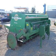 Used Great Plains disc seeder