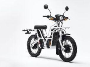 Utility bike battery powered