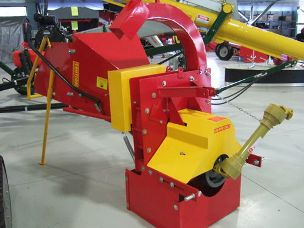 Millers Falls Wood Chipper three point linkage