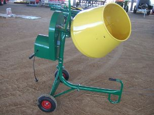 Worker 130lt Cement Mixer - Electric