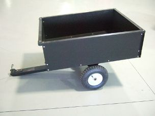 Worker ATV dump cart 14cuft