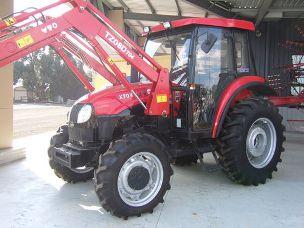 YTO X704 tractor 4wd cabin fel