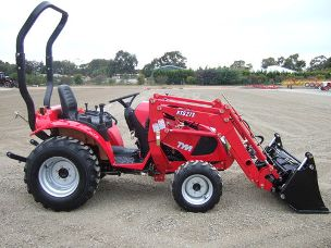 TYM T273 tractor 4wd rops front end loader