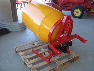 concrete mixer 3 point linkage