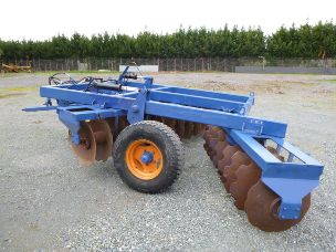 grizzly 28 plate heavy duty disc plow