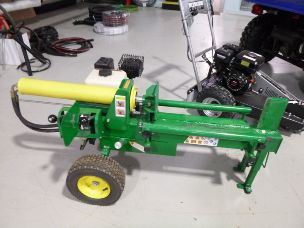 millers falls 15 ton log splitter