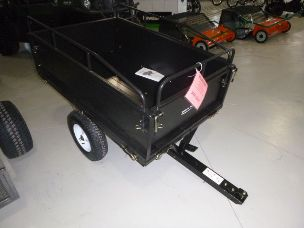 millers falls dump cart mower trailer 14cu/ft