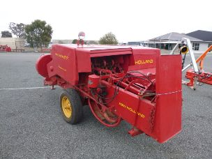 new holland 317 sml square baler