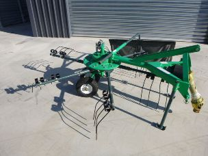 rotary rake 5 arm 2.5mtr worker
